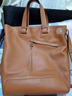 🈹🈹Loewe Anton Leather Tote Bag *not Hermes or Chanel*