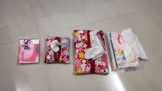Tissue holder set