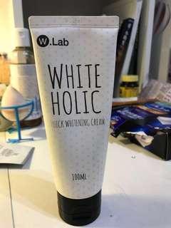 🚚 W.Lab white Holic 美白霜 100ml wlab