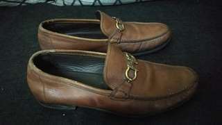 Authentic Salvatore Ferragamo  loafer leather