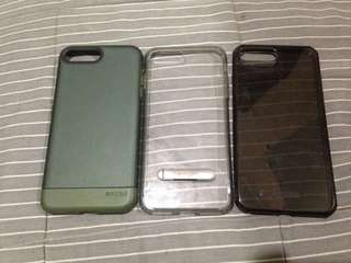 Iphone 7plus (+) cases legit from us and dbrand skin