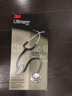 Littman stethoscope in all black