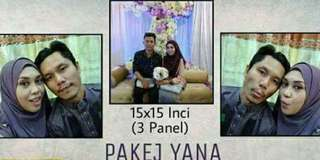 Photo Canvas (Pakej Yana)