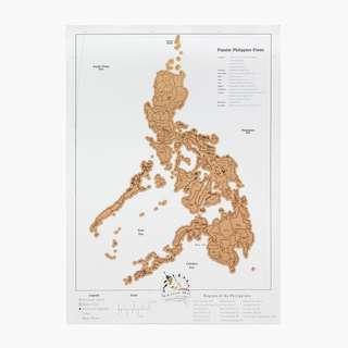 KULTURA Philippine Scratch Map