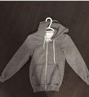 Unisex American apparel salt&pepper sweater