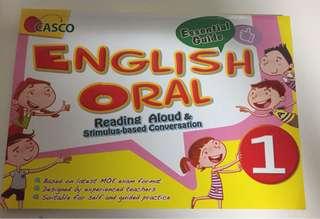 Casco English Oral for Primary 1