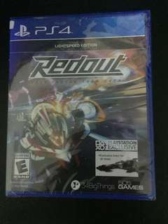 PS4 Redout LightSpeed Edition (New)