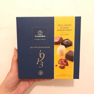 Leonidas assorted chocolate 11 pcs 龍島手工朱古力11粒裝