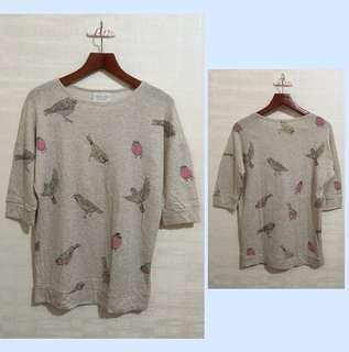 Zara birdy top
