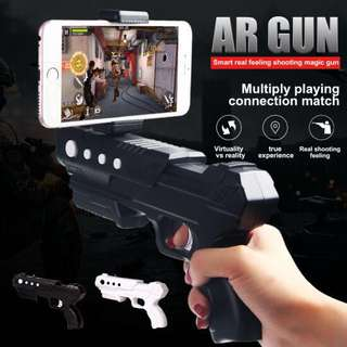 AR Gun PRO Augmented reality helloAR HELLO iPhone android iOS toy shooting game games joystick buttons