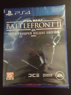 PS4 Star Wars Battlefront 2 Deluxe Edition (New)