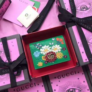 Gucci Garden Small Wallet/Cardholder