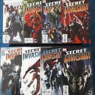 Secret Invasion #1-#8 (Complete)