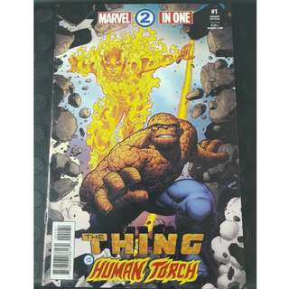 Marvel 2 in One #1F : The Thing & The Human Torch