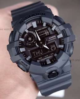 NEW🌟ARRIVAL in GSHOCK 200M DIVER SPORTS CASIO WATCH : 1-YEAR OFFICIAL WARRANTY: 100% Originally Authentic G-SHOCK Resistant in ARMY MILITARY RAINFOREST in Absolutely Toughness Best For Most Rough Users : GA-700CU / GA-700 / GA700 / GA700CU