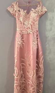 Dusty Pink Party/Prom Dress
