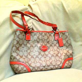 #July100 Authentic Coach Handbag