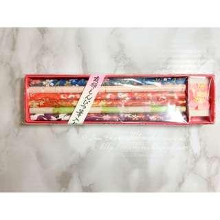 MADE IN JAPAN Washi Pencil Set 日本製和紙友禅鉛筆
