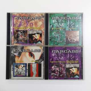 Carcass CD Lot (Remastered)