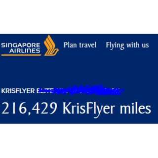 WTS KF MILES . SAVE $ FOR BIZ CLASS TICKETS!!!
