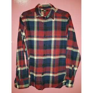 UNIQLO Red & Blue Check Shirt