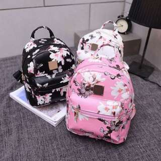 Korean Floral Butterfly Backpack
