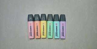 Stabilo Highlighters set