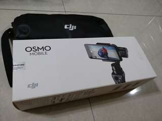 DJI Osmo Mobile (is totally like brand new)