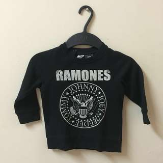 H&M Set of Ramones Sweater & Jogger Pant