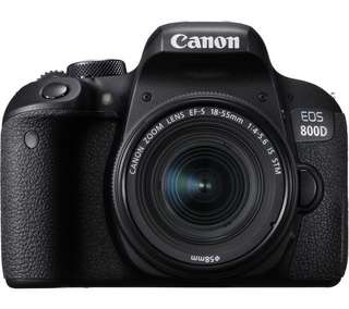 Canon EOS 800D WIFI 18-55 IS STM Kredit Mudah