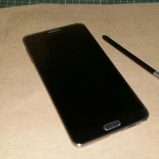 SAMSUNG NOTE 3(ORIGINAL SME-N9005)faulty lcd white screen