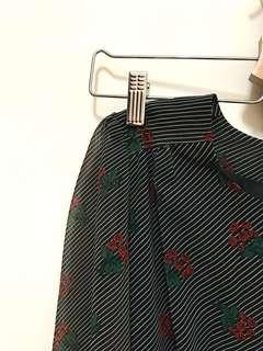 日本古著洋裝_vintage/花花洋裝