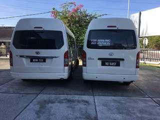 klia taxi / wedding van / van rental / airport van / klia 2 taxi
