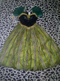 Anna costume 7-8 yrs old