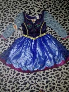 Anna costume 4-6 yrs old