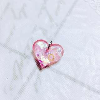 [Handmade] Love Is In The Air Sweet Heart Charm