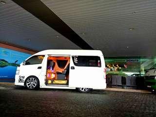 toyota hiace / van rental / car rental / airport taxi / KL taxi / thailand van / singapore van
