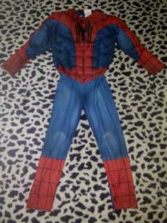 Spiderman 4-6 yrs old ( padded )