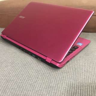 Pink Edition Acer 4th Generation 2gb Ram 500gb Hdd 11.6 inches Netbook Laptop