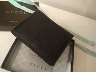 Authentic Gucci Wallet Brand New 銀包 全新 全皮 (我想要百佳現金券)