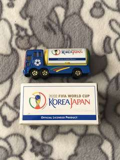 Tomica 2002 FIFA World Cup(Korea/Japan)limited edition