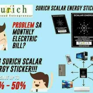Surich Scalar Energy stickers