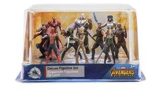 Marvel Avengers Infinity War Deluxe Figure Set