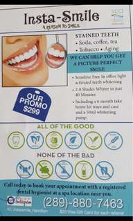 Insta-Smile Teeth whitening