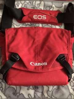 Crumpler Canon EOS camera bag(red colour)