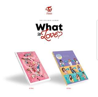 TWICE 5th Mini Album - WHAT IS LOVE