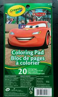 Brandnew Crayola Coloring Pad ~ 20 Pages