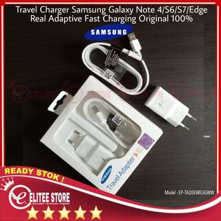 Charger Samsung Galaxy Note 4 Fast Charging Original Vietnam