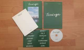 Seventeen kpop Teen, Age album NO PHOTOCARD