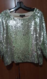 Newlool sequin top